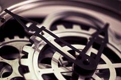 Clock Macro Detailed Royalty Free Stock Image