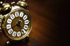 Clock Macro Detailed Stock Image