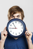 Clock man Stock Photography