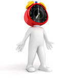 Clock Man Royalty Free Stock Image
