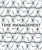Clock management Royalty Free Stock Photo