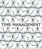 Clock management stock illustration
