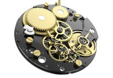 Clock Mechanism Royalty Free Stock Images