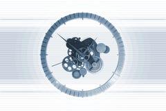Clock Mechanism Stock Image