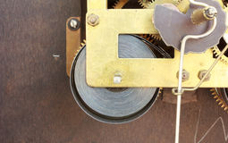 Clock mechanism Stock Photography