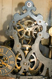 Clock mechanism of bell tower Royalty Free Stock Image