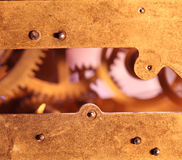 Clock mechanism Stock Photography