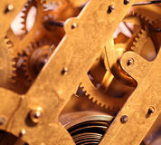 Clock mechanism Royalty Free Stock Photography