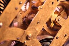 Clock mechanism stock photos