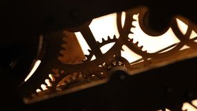 ClockMechanism stock video