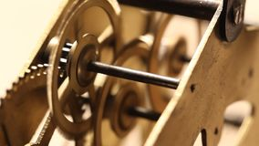 ClockMechanism stock video footage