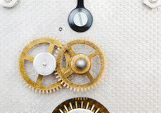 Clock mechanism Royalty Free Stock Image