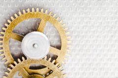 Clock mechanism Stock Images