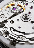 Clock mechanism with gears Royalty Free Stock Photography