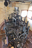 Clock mechanism at St Mark's Clocktower in Venice Stock Photography