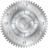 Clock metal gear Stock Images