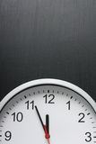 Clock at Midnight Stock Photography