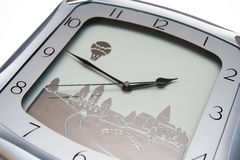 Clock with minutes left Stock Image