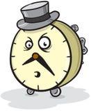 clock mren Arkivfoton