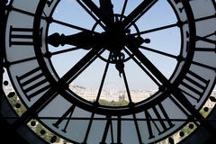 Clock at the Musee D`Orsay Stock Images