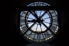 Clock at the Musee D`Orsay Royalty Free Stock Images