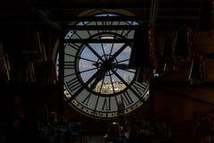 Clock at Musee d'Orsay in Paris Royalty Free Stock Photos