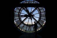 Clock at the Musee D'Orsay Stock Photos