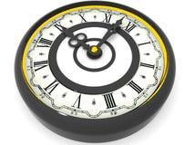 Clock. Nine o'clock. 3d Stock Images