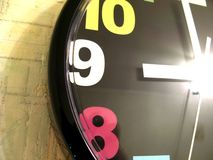 Clock numbers stock photos