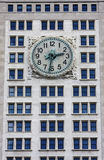 Clock in NYC Stock Photos