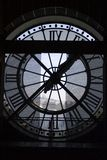 Clock at the Orsay Museum. Paris, France Royalty Free Stock Photo