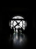 Clock Orsay museum Paris royalty free stock image