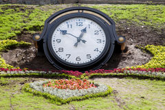 Clock in the park Royalty Free Stock Photography