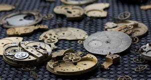 Clock Parts 53 Royalty Free Stock Photos