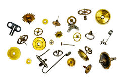 Clock parts Royalty Free Stock Image