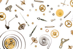 Clock parts Royalty Free Stock Photography