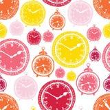 Clock pattern Stock Photos