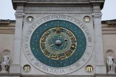 Clock. Photo image with big Clock in Padova Royalty Free Stock Photos