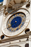 The clock on the Piazza San Marco in Venice Stock Image