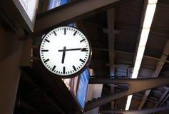 Clock. Pic of clock at sky train Royalty Free Stock Image