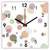 Clock. Picture of a colorful clock Royalty Free Stock Photography
