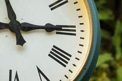 Clock at 3pm Stock Photos