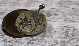 Clock, Pocket Watch, Movement Stock Images
