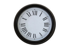 Clock without pointers Stock Photo
