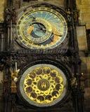 Clock in Prague Royalty Free Stock Photos