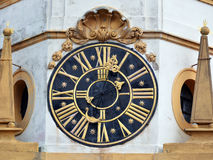 Clock in Prague Royalty Free Stock Photo