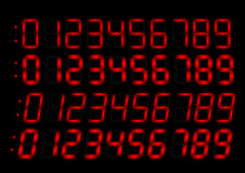 Free Clock Radio Red Numbers Royalty Free Stock Images - 20494329