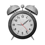 Clock recycled paper craft Royalty Free Stock Photography