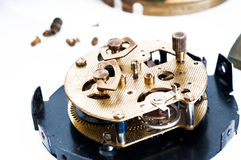 Clock repair Royalty Free Stock Photography