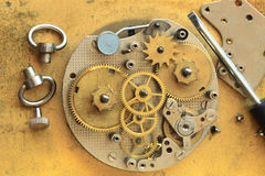Clock Repairing Stock Photography